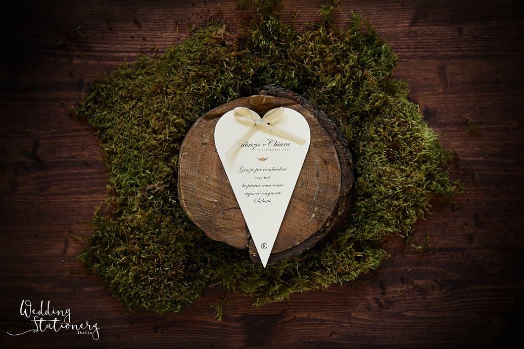 wedding stationery cuore