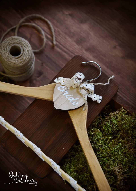 accessori wedding appendiabiti